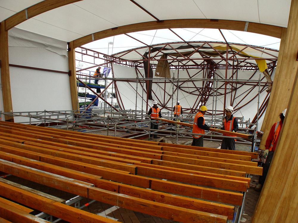 Inside a Giant Waka!