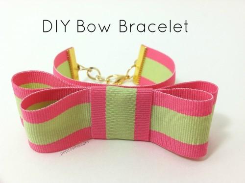 Bow Tie Bracelet Diy Diy Bow Bracelet