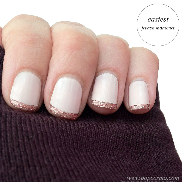 How to make french nail manicure