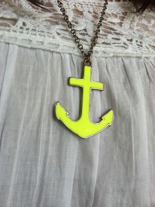 neon anchor