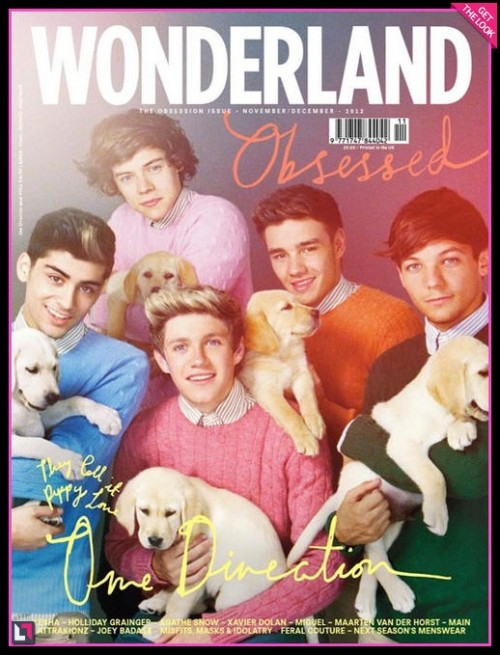 One Direction puppy love