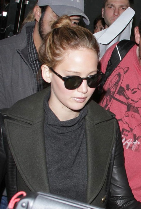 Jennifer Lawrence LAX