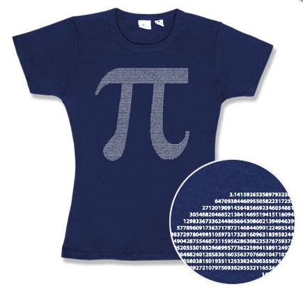 pi day tshirt
