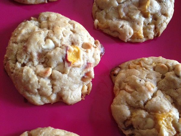 White Chocolate Peach Scones 4