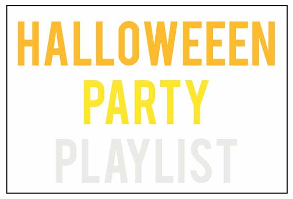 Halloween party playlist | Popcosmo