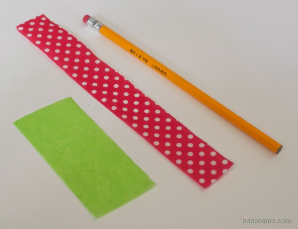 DIY Christmas Pencils