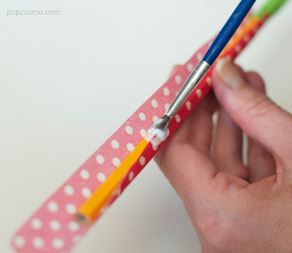 steps to make cute pencils