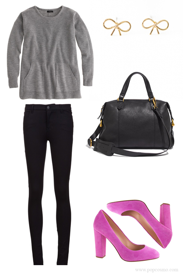comfortable fall outfit