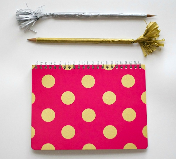 cute pencils with frilly tops