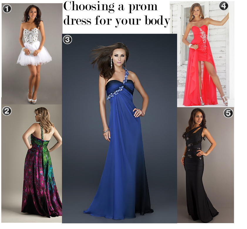 Prom dresses body types