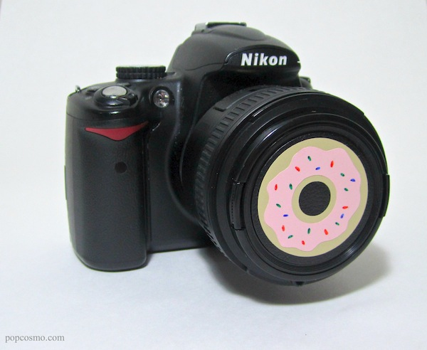DIY Donut Camera Lens Cap