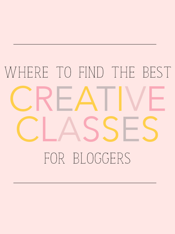 Creative classes for bloggers