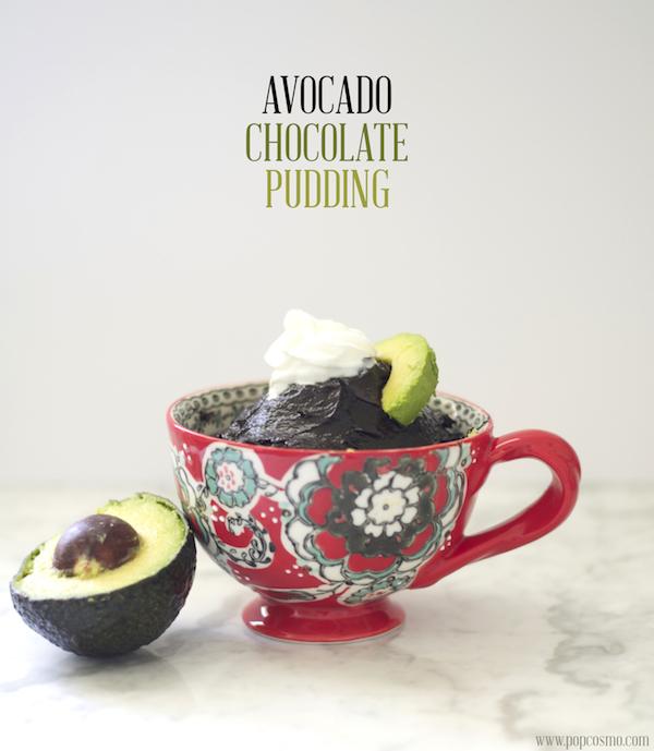 raw chocolate pudding | popcosmo.com