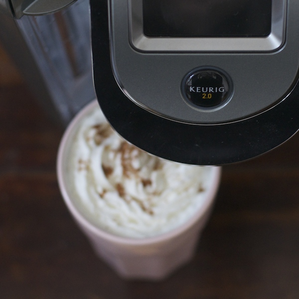 Keurig + pumpkin spice latte recipes