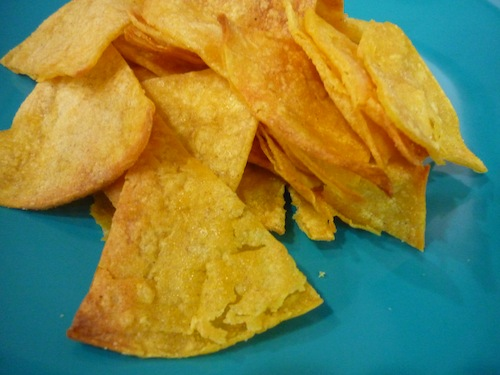 tortilla chips recipe
