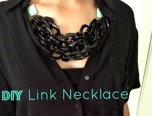 DIY Link Necklace