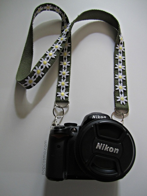 replacement camera strap tutorial