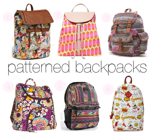 where can I find a cute backpack