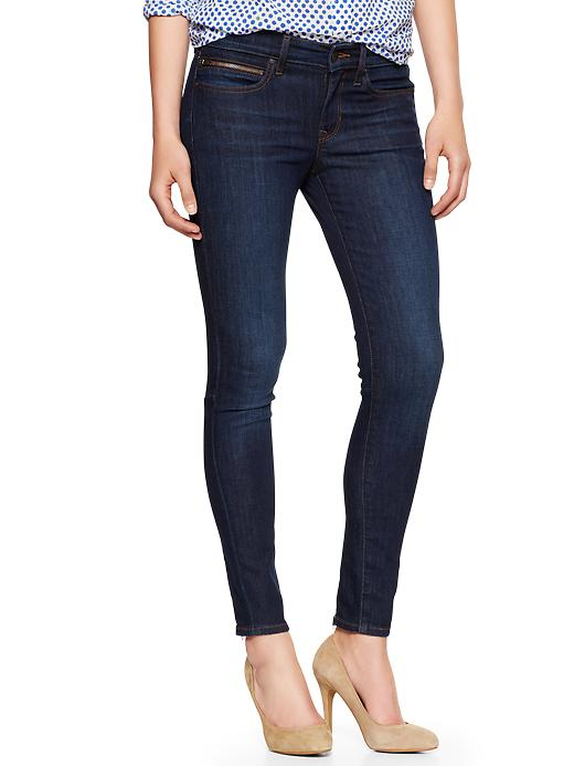 gap ankle zip skinny jean