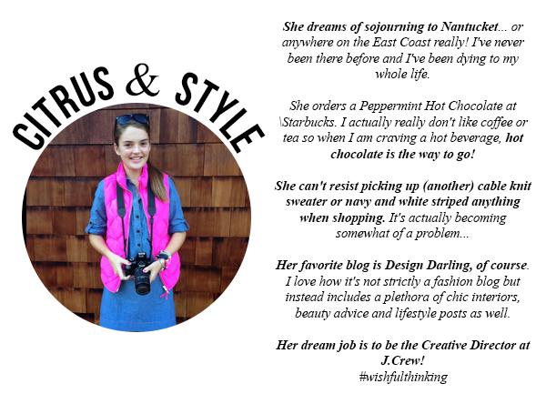 teen blogger citrus & style