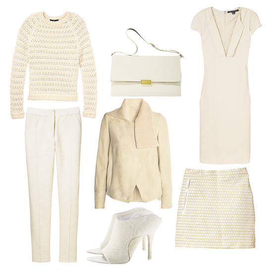 cream outfit from Wall Street Journal