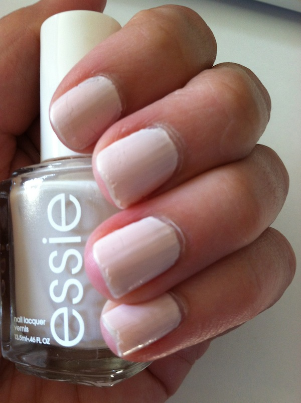 how to do the easiest french manicure