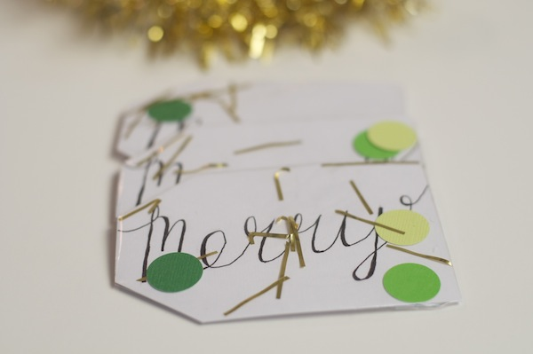 shake it gift tags