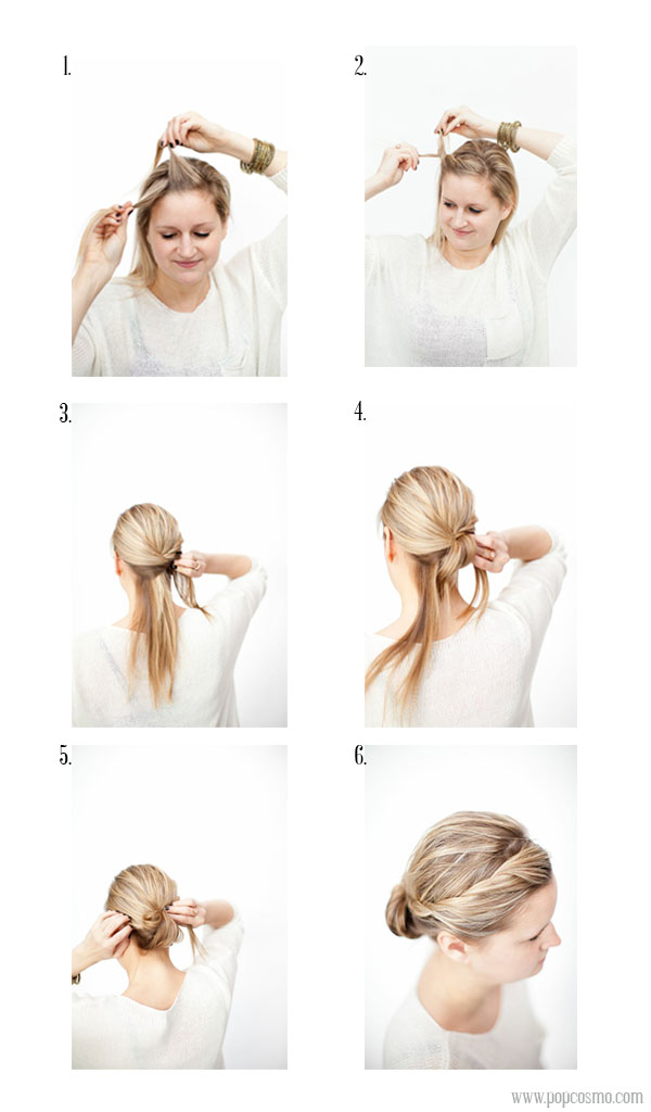 Chignon Twist Tutorial