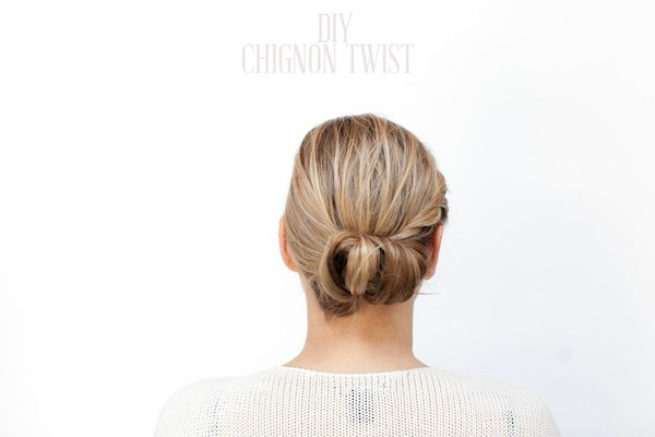 How to style a Chignon Twist