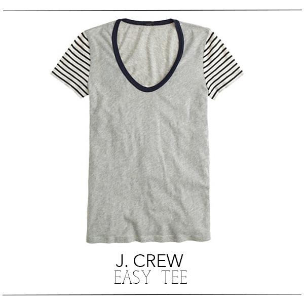 J Crew easy tee