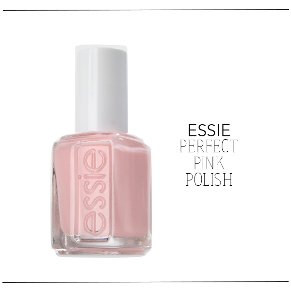 Essie Perfect pink polish