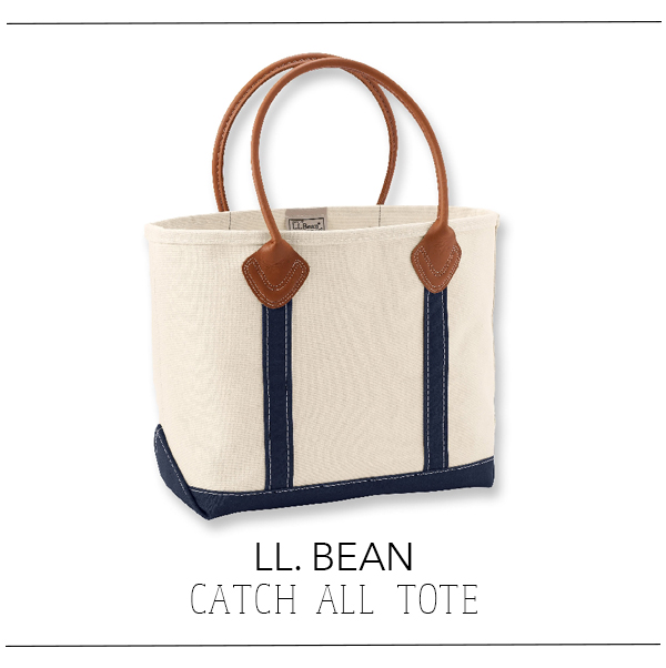 LL Bean Catch All Tote