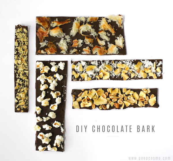 Tropical Chocolate Bark Recipe — Dishmaps