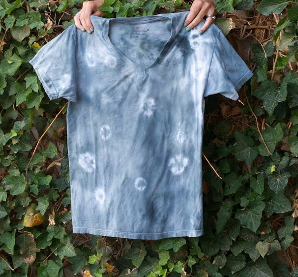 how to make a spotted tie-dye
