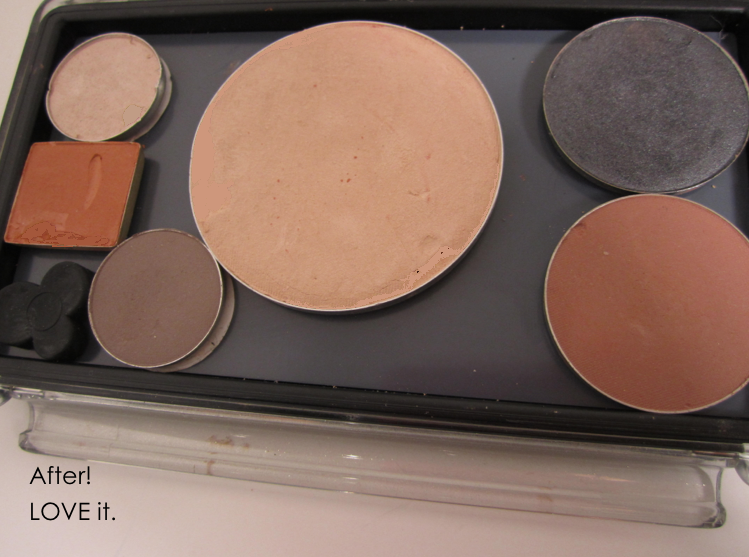 depot results of Unii palette