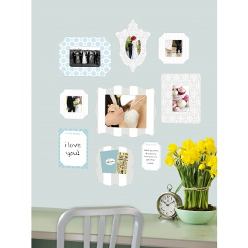 Sticker picture frame
