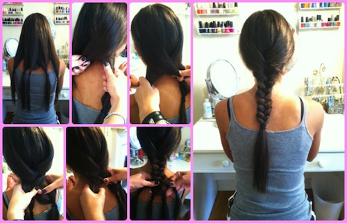 how to do a 5 strand braid