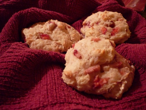 Strawberry Ricotta Scones 1