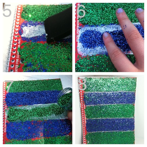 ModgePodge Glitter how to