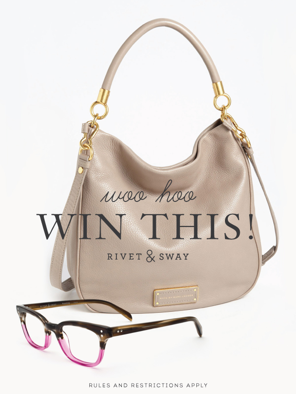 Marc Jacobs handbag giveaway