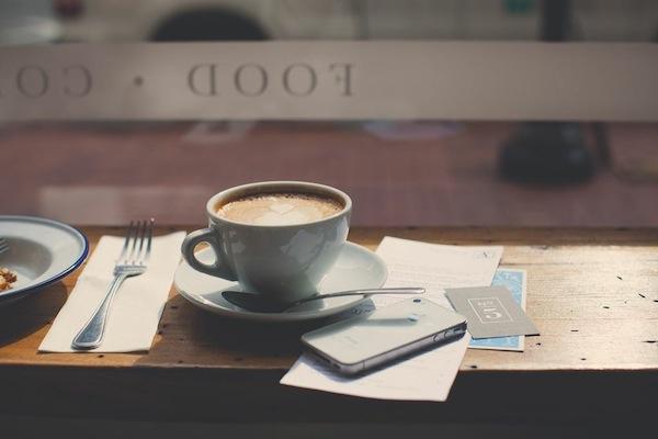 coffee break at Atlantic No. 5