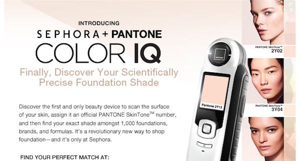 Sephora Color IQ