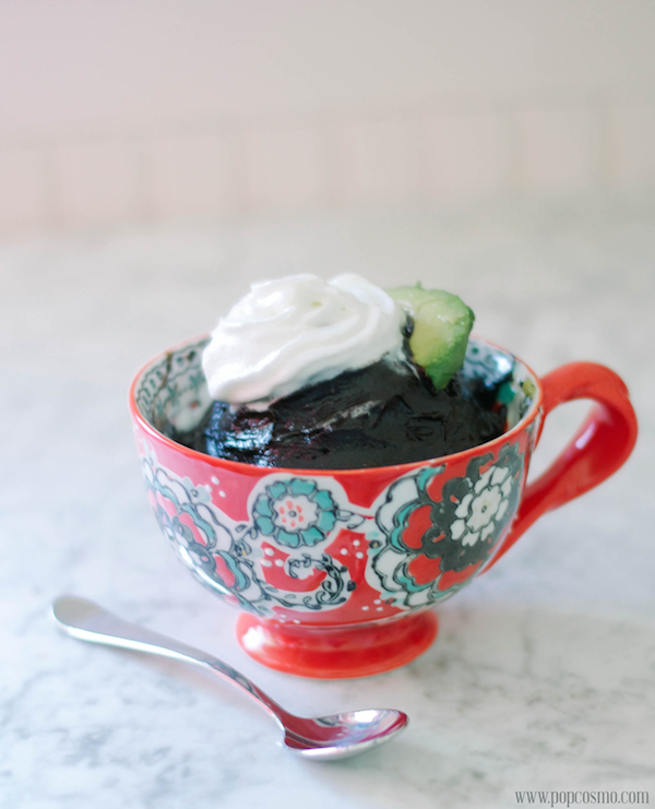 chocolate pudding with avocado
