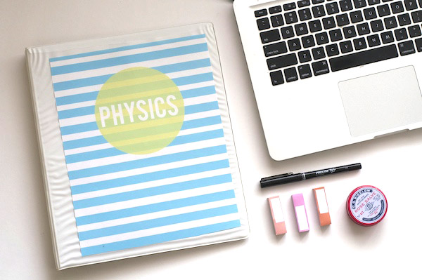 Free Downloadable Binder Cover | Popcosmo