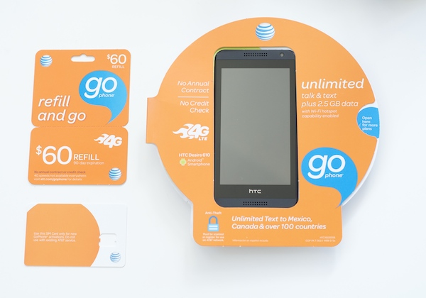 AT&T GoPhone package
