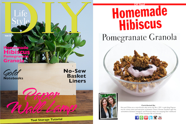 Popcosmo in DIY Lifestyle Magazine