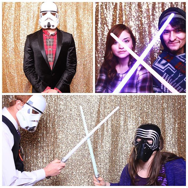 May the 4th be with you! We knew all of these light sabers when come in handy...