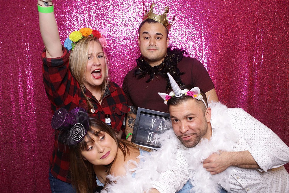 Wyoming Studio Photobooth Cheyenne Laramie Photobooth Rental Photo booth wedding party event colorado fort collins best pretty rose gold backdrop sequin large pink hot4.jpg