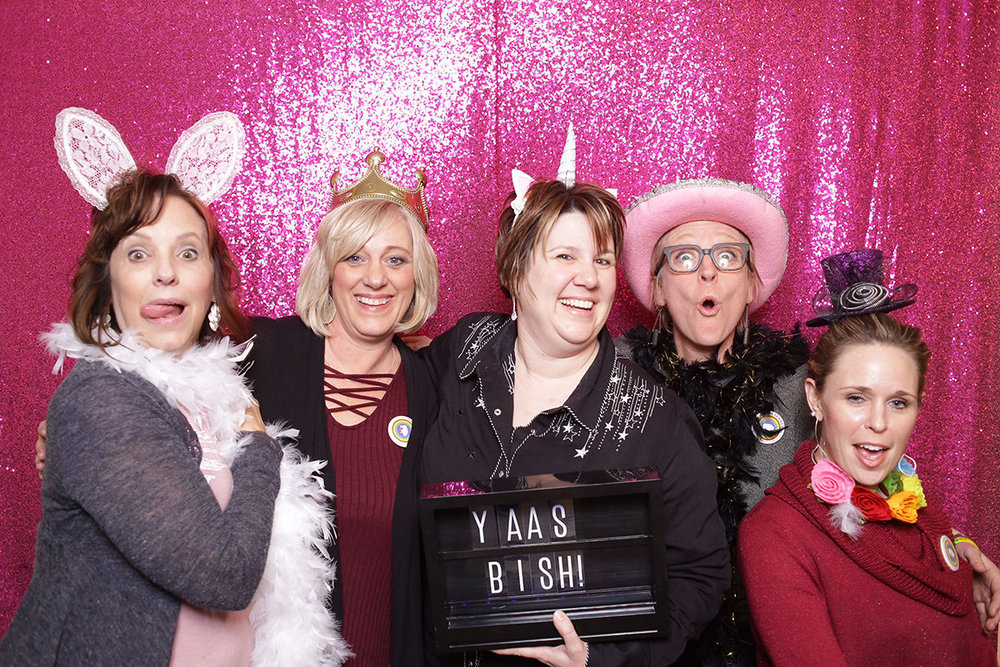 Wyoming Studio Photobooth Cheyenne Laramie Photobooth Rental Photo booth wedding party event colorado fort collins best pretty rose gold backdrop sequin large pink hot2.jpg