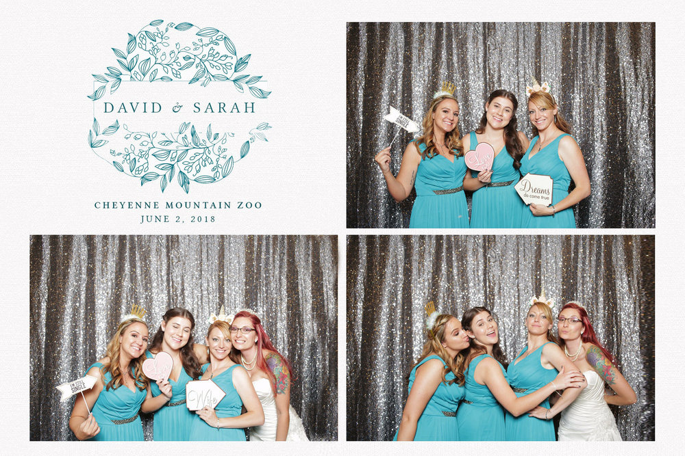 Photobooth Wedding Rental Sarah Olsen David Kling Cheyenne Mountain Zoo Colorado Springs, CO Jordan White Dillon Lawrence Barn at Racoon Creek Littleton Colorado Liz Osban photography photo booth weddings booth instant silver sequin backdrop.jpg